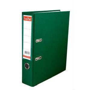 VELTE-OFİS MALZEMELERİ-Dosyalama & Arşivleme-Plastik Dar Klasörler-Velte Plastik Dar Klasör Yeşil