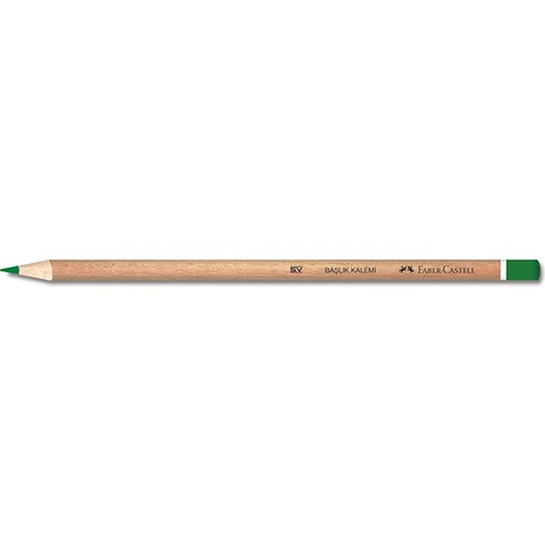 Faber-Castell Başlık Kalemi Naturel Yeşil YENİ