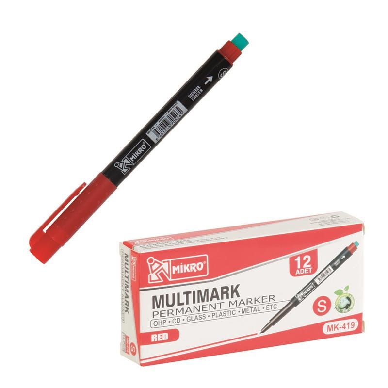 Mikro MK-419S Cd Kalemi Kırmızı