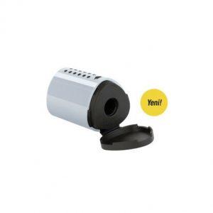 Faber-Castell Mini Grip Kalemtraş Gri YENİ