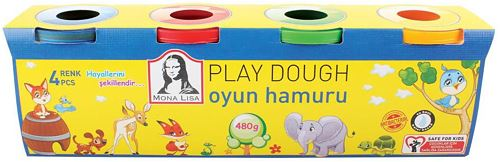 Südor Monalisa Play Dough 4x120 g