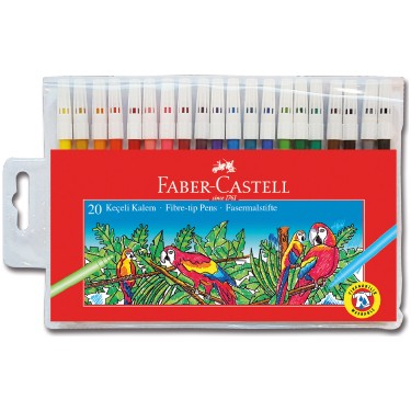 Faber-Castell Keçeli K. 20 R. Yıkanabilir