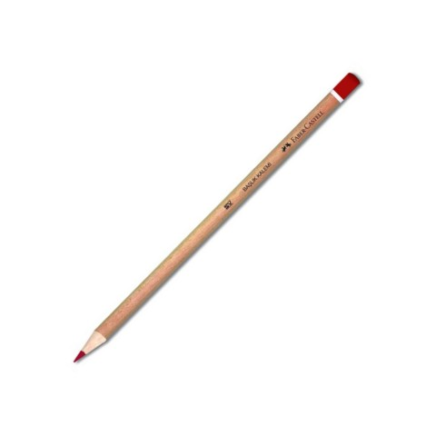 Faber-Castell Başlık Kalemi Natural Kırmızı YENİ