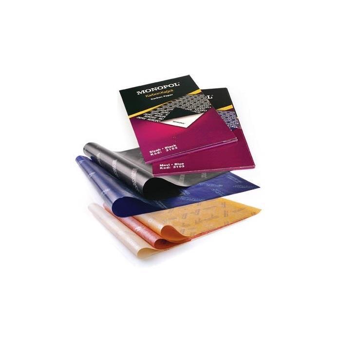 Monopol A3 Karbon Kağıdı Mavi 297X420