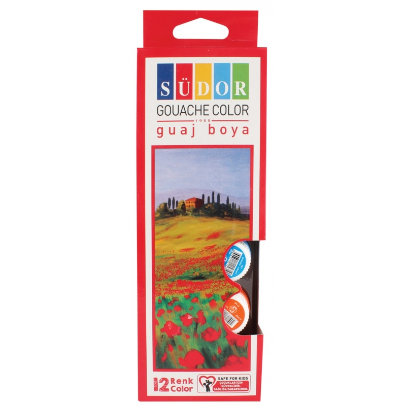 Südor Guaj Boya Set 12x15 ml