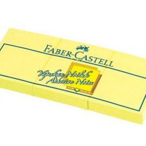 Faber-Castell Yapışkan Notluk 50X40 3'Lü, Sarı