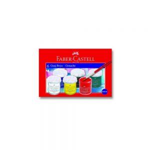 Faber-Castell Guaj Boya 6 Renk