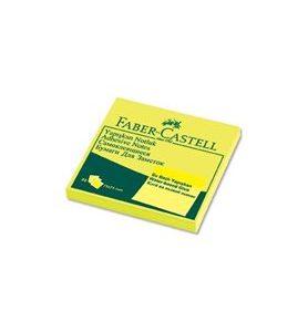 Faber-Castell Yapışkan Notluk 75X75mm, Sarı