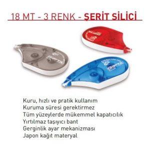 GIPTA SERIT SILICI - 18 MT - 3 RENK