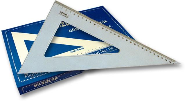 Yıldızlar Gönye 32 cm – 60 cc - 024