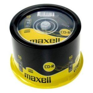 Maxell Cd-R 52X 700Mb Cakebox 50Li