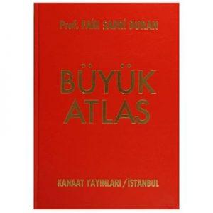 Büyük Atlas Ciltli - Kanaat Yayınları