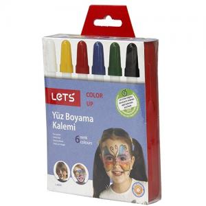 Lets Yüz Boyası 6 Renk
